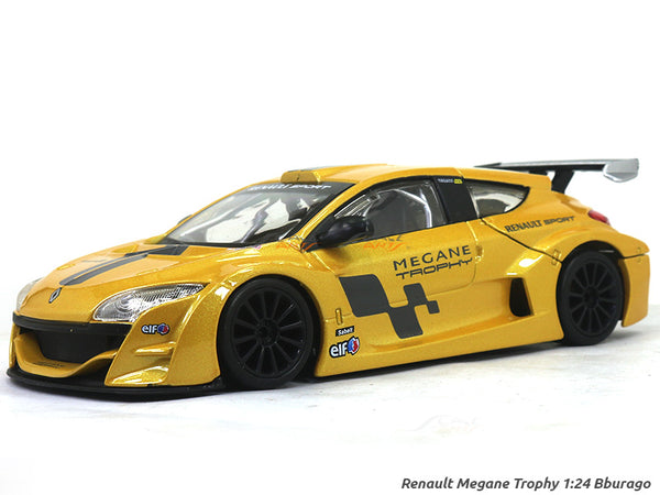 Renault Megane Trophy 1:24 Bburago diecast Scale Model car
