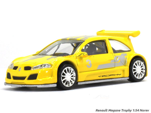 Renault Megane Trophy 1:54 Norev diecast scale model car