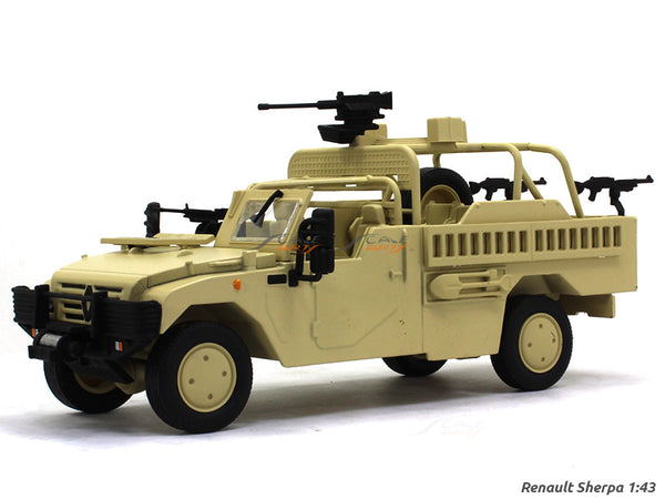Renault Sherpa 1:43 diecast Scale Model military vehicle