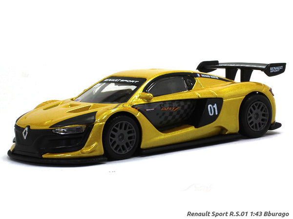 Renault Sport RS 01 1:43 Bburago diecast Scale Model car
