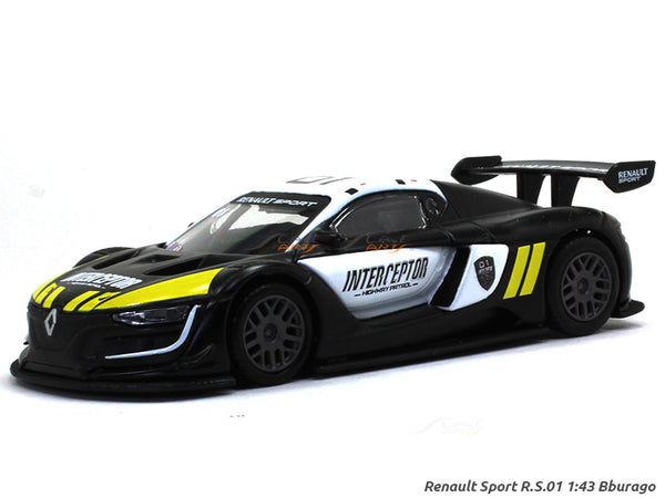 Renault Sport RS 01 Interceptor  Bburago diecast Scale Model car