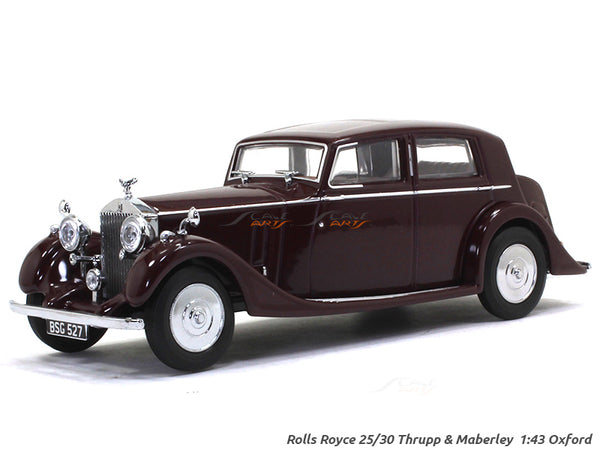 Rolls-Royce 25-30 Thrupp Maberley red 1:43 Oxford diecast Scale Model Car