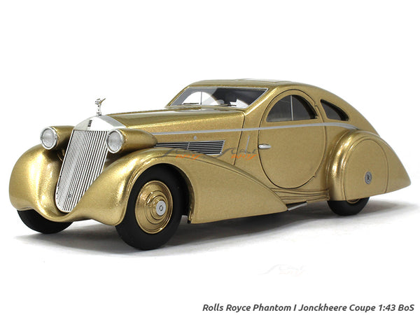 Rolls Royce Phantom I Jonckheere Coupe 1:43 BoS Scale Model Car