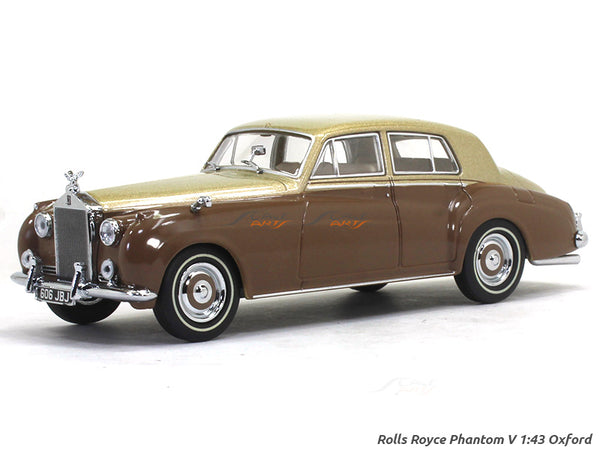 Rolls Royce Phantom V James Young 1:43 Oxford diecast Scale Model Car
