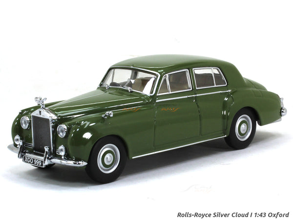 Rolls-Royce Silver Cloud 1 smoke green 1:43 Oxford diecast Scale Model Car