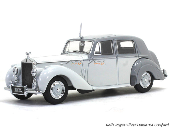 Rolls Royce Silver Dawn 1:43 Oxford diecast Scale Model Car