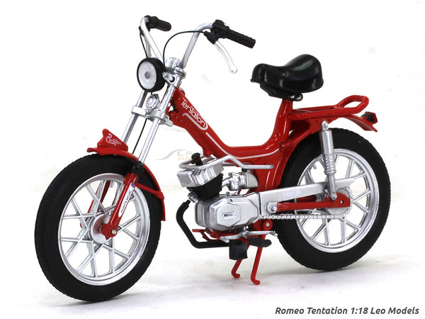 Romeo Tentation 1:18 Leo Models diecast scale model bike