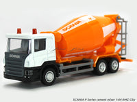 Scania P Series cement mixer 1:64 RMZ City diecast Scale Model Truck