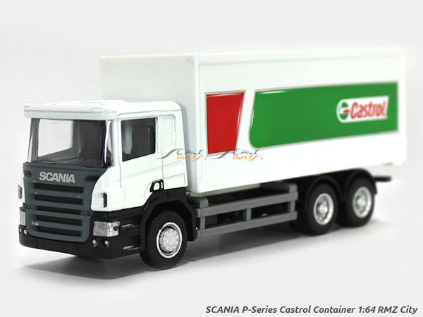 Scania P Series Castrol 1:64 RMZ City diecast Scale Model Truck