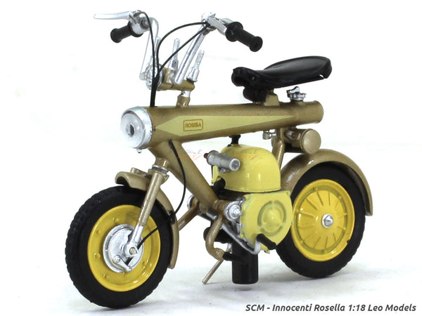 SCM - Innocenti Rosella 1:18 Leo Models diecast scale model bike