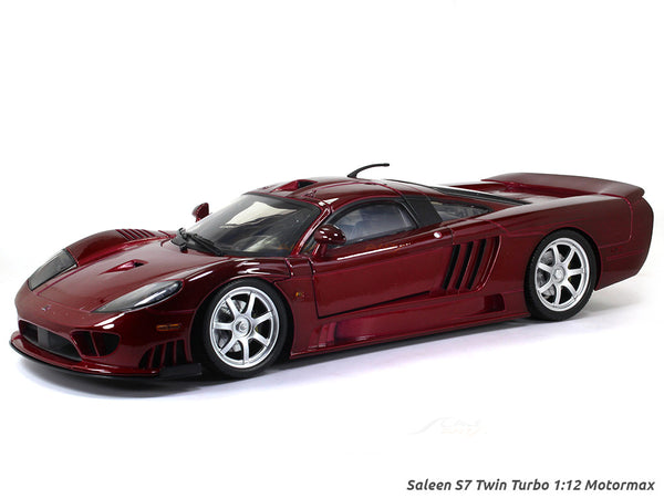 Saleen S7 Twin Turbo 1:12 Motormax diecast scale model car