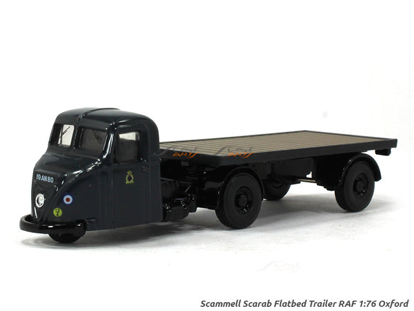Scammell Scarab Flatbed Trailer 1:76 Oxford diecast Scale Model Car