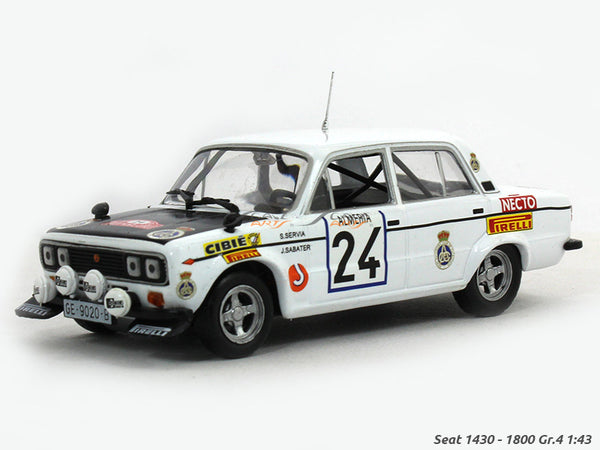 Seat 1430 1800 Gr 4 118 NE 1:43 diecast Scale Model Car