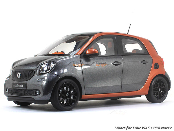 2015 Smart For Four W453 1:18 Norev diecast scale model car