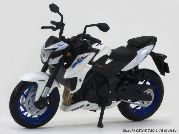 Suzuki GSX-S 750 1:18 Maisto diecast scale model bike