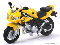 Suzuki SV 650S 1:18 Maisto diecast scale model bike