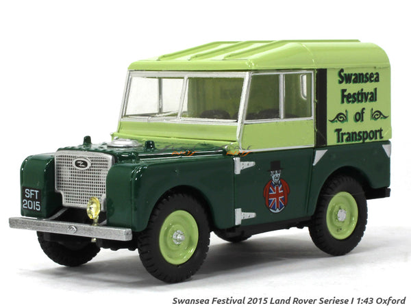 Land Rover Series 1 80' 1:43 Oxford diecast Scale Model Car