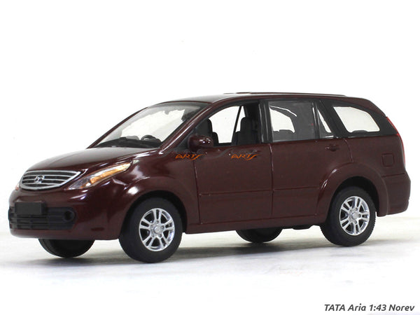 TATA Aria Maroon 1:43 Norev diecast Scale Model Car