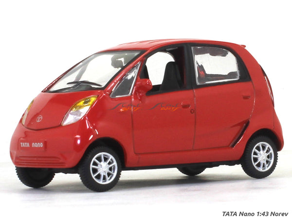 Tata Nano red 1:43 Norev diecast Scale Model Car