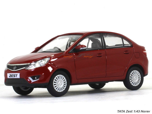 Tata Zest red 1:43 Norev diecast Scale Model Car