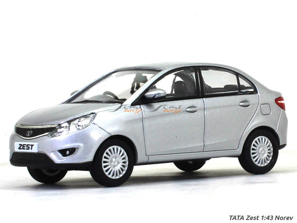 Tata Zest silver 1:43 Norev diecast Scale Model Car