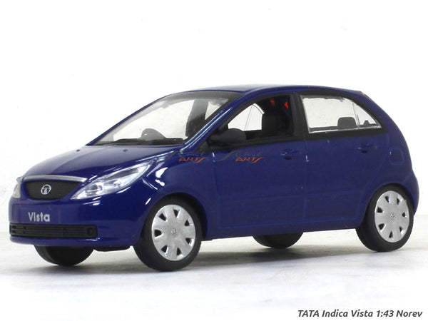 TATA Indica Vista blue 1:43 Norev diecast Scale Model Car