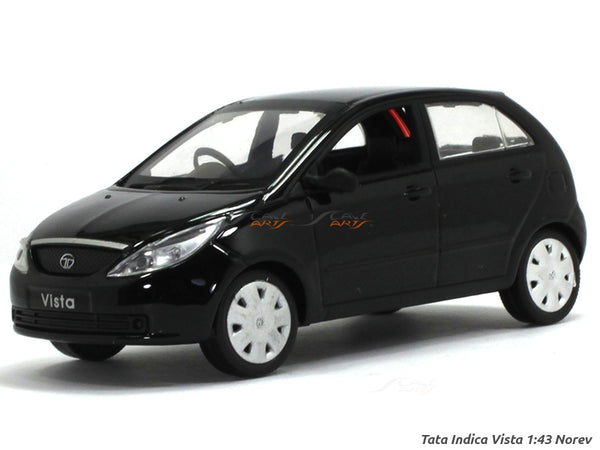 TATA Indica Vista black 1:43 Norev diecast Scale Model Car
