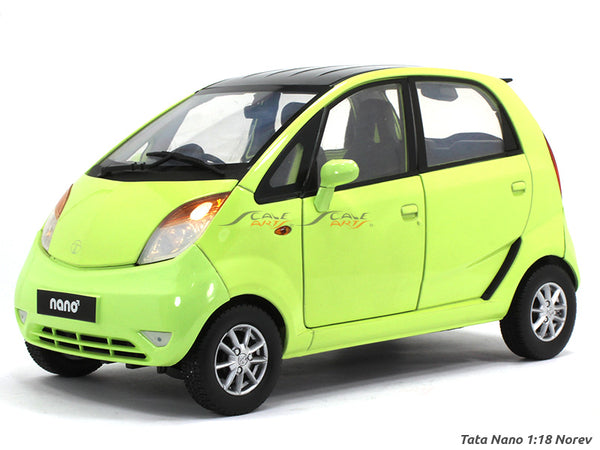 Tata Nano green 1:18 Norev diecast scale model car