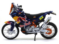 Team Red Bull KTM 450 Dakar Rally 1:18 Bburago diecast scale model bike