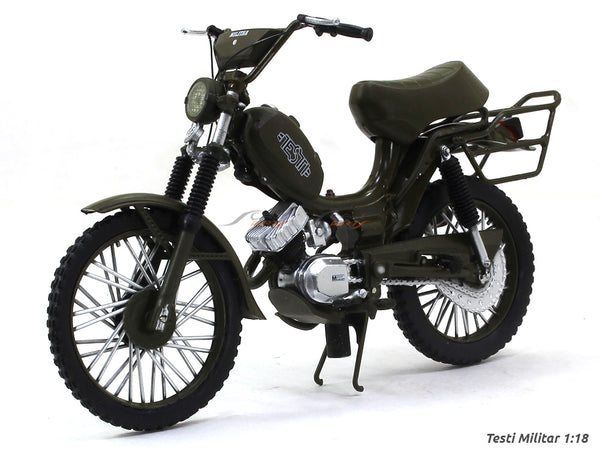 Testi Militar 1:18 Leo Models diecast scale model bike