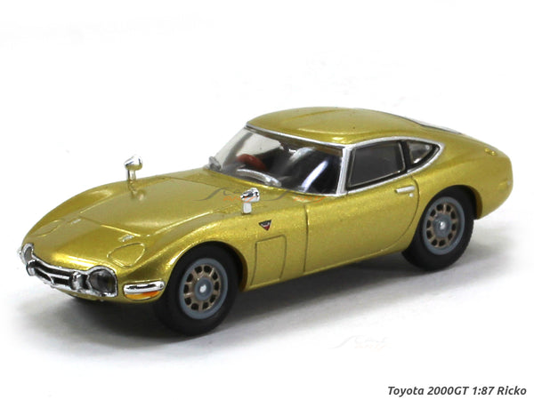 Toyota 2000GT 1:87 Ricko HO Scale Model car