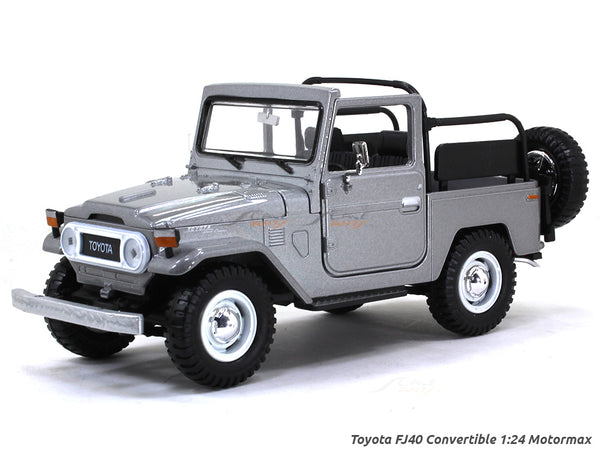 Toyota FJ 40 convertible Land Cruiser 1:24 Motormax diecast scale model car
