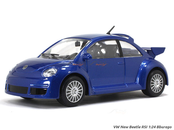 Volkswagen New Beetle RSI  1:24 Bburago diecast Scale Model car