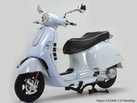 Vespa GTS300 white 1:12 NewRay scale model bike