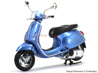 Vespa Primavera blue 1:12 NewRay scale model bike