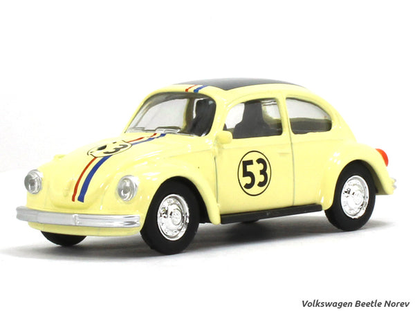 Volkswagen Beetle Herbie 1:54 Norev diecast scale model car