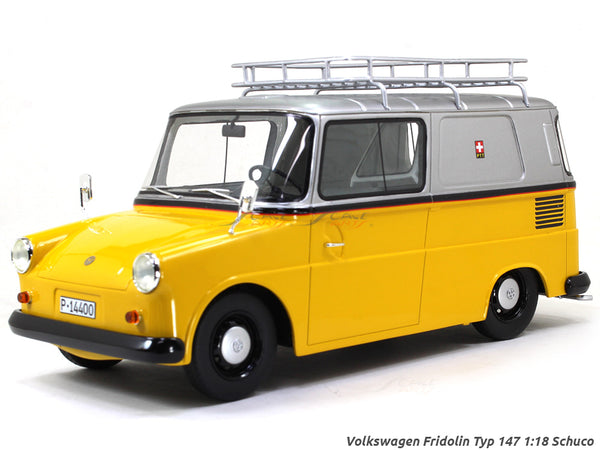 Volkswagen Fridolin Typ 147 1:18 Schuco scale model van