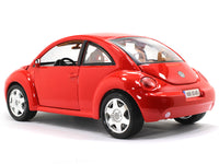 Volkswagen New Beetle red 1:18 Bburago diecast Scale Model car
