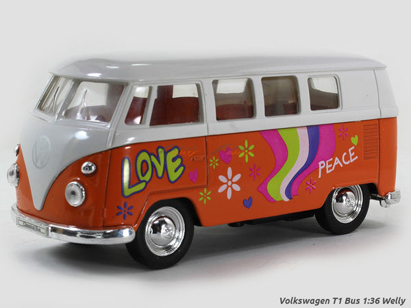 Volkswagen T1 Bus 1:36 Welly diecast Scale Model car
