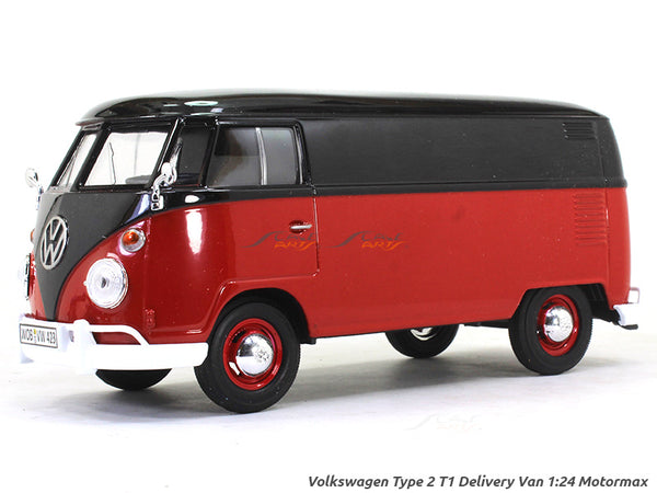 Volkswagen Type 2 T1 Delivery Van 1:24 Motormax diecast scale model car