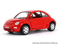 Volkswagen New Beetle red 1:24 Bburago diecast Scale Model car