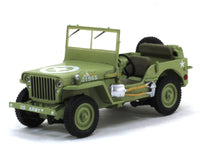 Willys Jeep MB 1:43 Greenlight diecast Scale Model Car