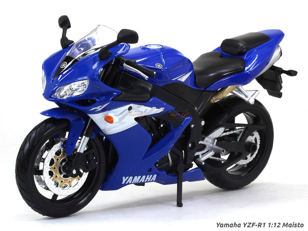 Yamaha YZF-R1 1:12 Maisto diecast Scale Model bike