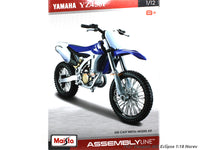 YAMAHA YZ450F 1:12 Maisto Model kit bike scale model collectible