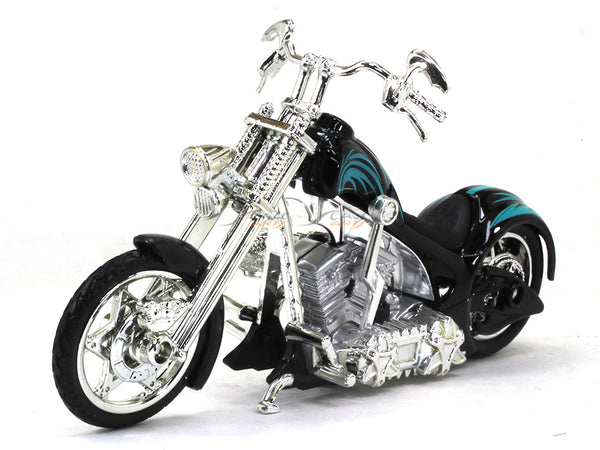 American Chopper black 1:18 Motormax diecast scale model bike