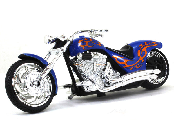 American Chopper Purple 1:18 Motormax diecast scale model bike
