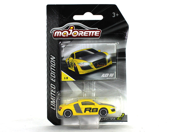 Audi R8 1:64 Majorette Limited Edition diecast Scale Model car