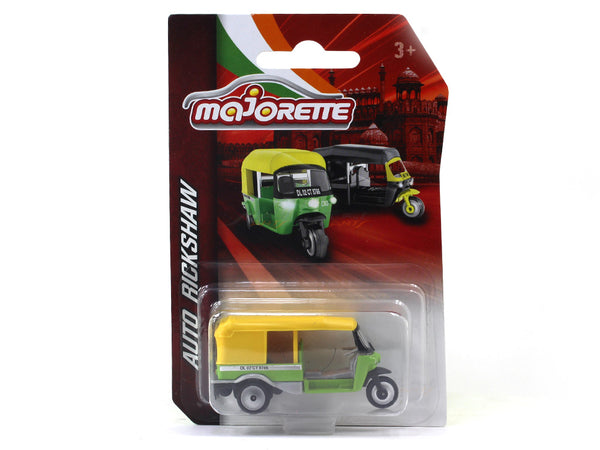 Delhi Auto Rickshaw 1:64 Majorette diecast Scale Model car