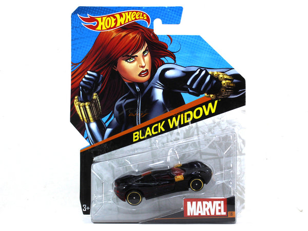 Black Widow 1:64 Hotwheels diecast Scale Model car