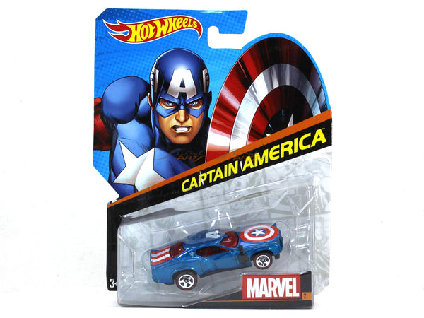 Captain America 1:64 Hotwheels diecast Scale Model car
